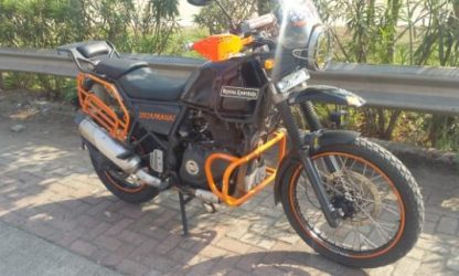 Donowyn Customs - Tail Rack with Cushion for RE Himalayan